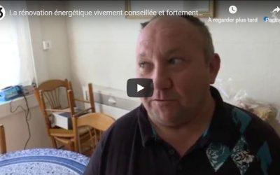 La rénovation énergétique par SOLIHA Gironde – Reportage France 3 Aquitaine