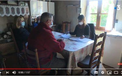 La rénovation énergétique par SOLIHA Limousin : reportage France 3