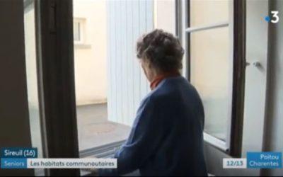 Domicile regroupé : un reportage France 3 à Sireuil
