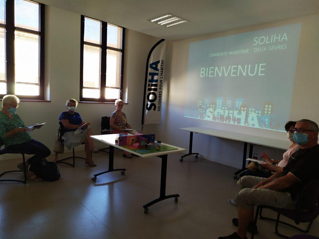 Ateliers bien vieillir . SOLIHA Charente Maritime Deux Sèvres