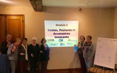 Ateliers Bien Chez Soi : les ASEPT et le Mouvement SOLIHA engagés pour bien vieillir à domicile